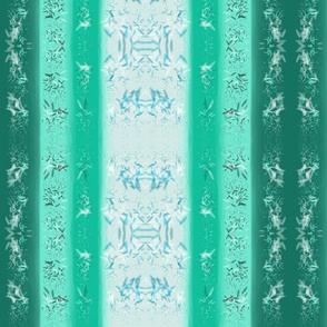 Oriental Jewelled Jade Stripe