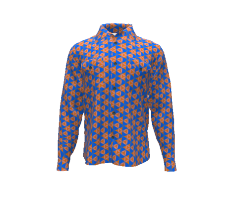 Triangles_geometric_pattern_blue_and_orange