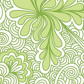 Greenery Zentangle
