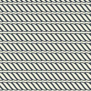 Navy Rope Strands