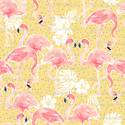 Tropicana Flamingo (gold) SMALL)