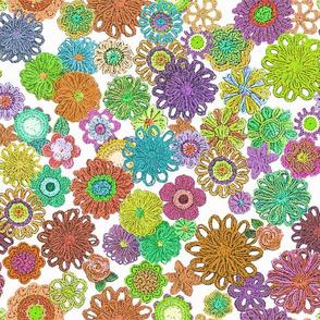 Floral yarn 2