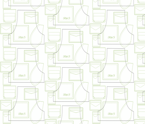 Sewing Patterns For Pockets  fabric by ruthjohanna on Spoonflower - custom fabric