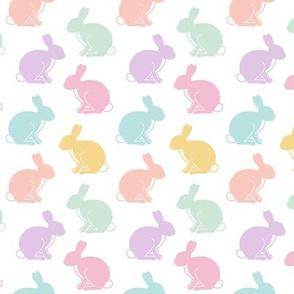 easter bunnies || pastel