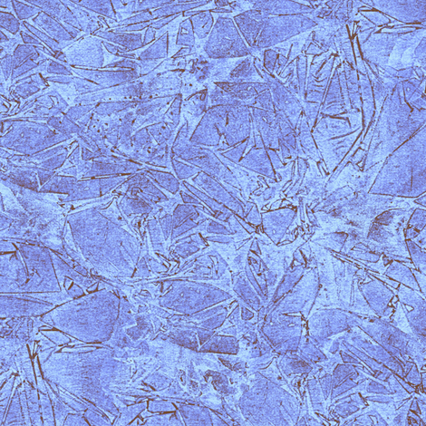 cracked ice in summer blue/brown fabric by weavingmajor on Spoonflower - custom fabric