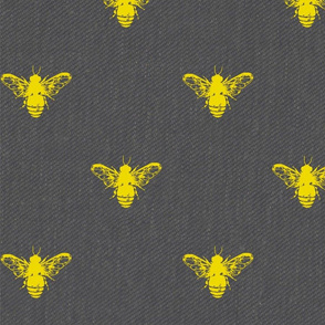 Bee Grey and Gold