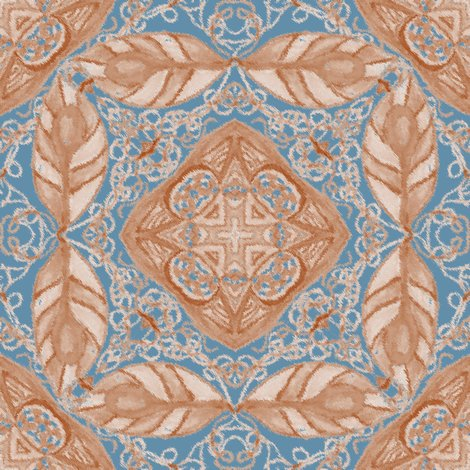 Rold_fashioned_faux_carpet_in_blue_and_beige_shop_preview
