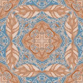 Rold_fashioned_faux_carpet_in_blue_and_beige_shop_thumb