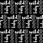 Wild Baby // Black