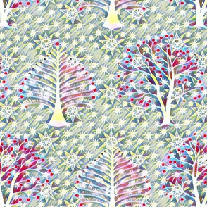 Spring trees and stars