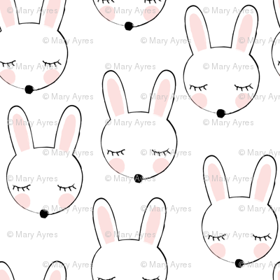 asymmetrical bunnies