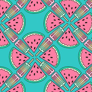 Watermelon  paddle pop