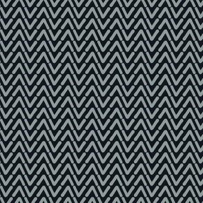 Grey hand drawn chevron