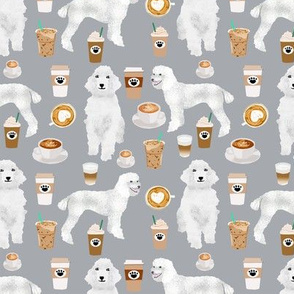 poodles coffee fabric cute white poodle coffee design best coffees and poodles fabrics grey