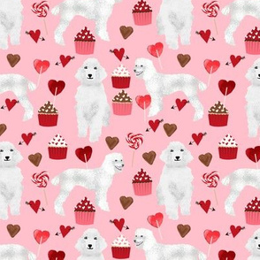 white poodle valentines day fabric cute valentines love fabric poodles dogs
