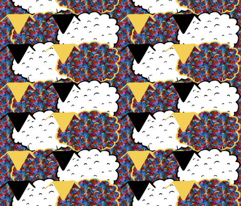 Two by Two fabric by anniedeb on Spoonflower - custom fabric