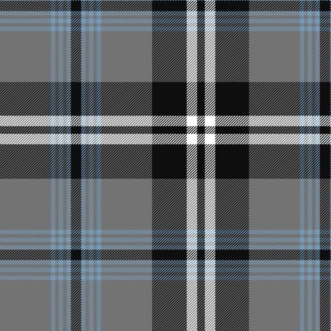 Nunavut grey tartan fabric by weavingmajor on Spoonflower - custom fabric