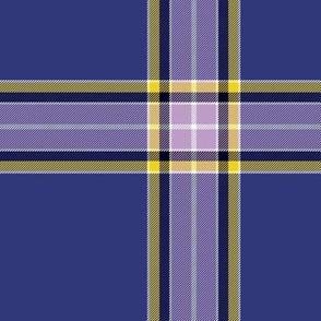 """Nunavut Territory tartan, 6"""""""