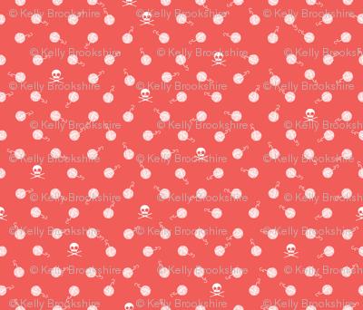 Yarn_Polka Dot_Mango Pink