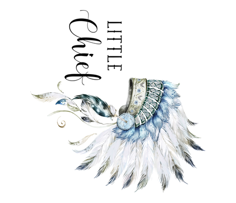 """36""""x42"""" Little Chief 90 degrees for / Kona Cotton 1 Yard fabric by shopcabin on Spoonflower - custom fabric"""