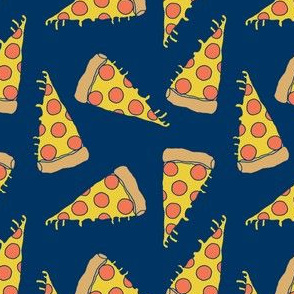 pizza // navy pizza junk food fabric kids junks food fabrics andrea lauren