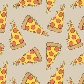 pizza // khaki pizza fabric junk food design junk foods design pizza fabric