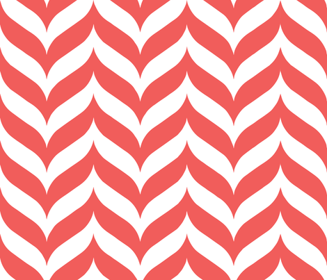Yarn-Fiber-Mango-Pink fabric by kfrogb on Spoonflower - custom fabric