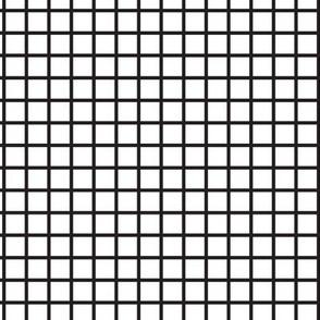 Grid - White & Black