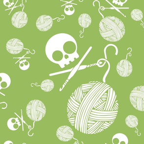 Yarn-Skull-and-Yarn-Toss-Greenery