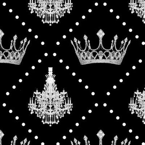 Chandeliers and Crowns