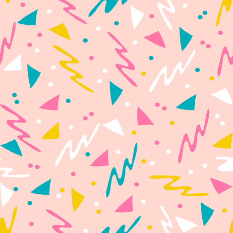 90s // retro rad 80s 90s fabric abstract kids 90s fabrics fabric by andrea_lauren on Spoonflower - custom fabric