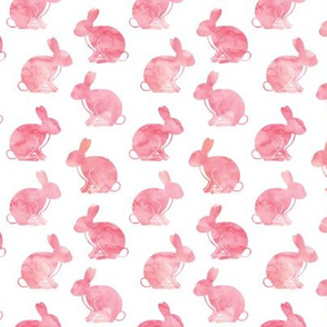 watercolor bunnies || easter fabric