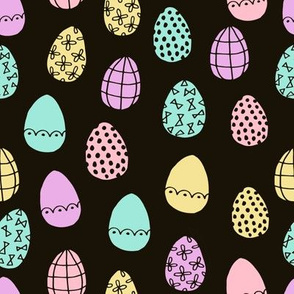 easter eggs // pastel easter eggs fabric fairy kei fabrics pastels spring design cute girls spring fabric
