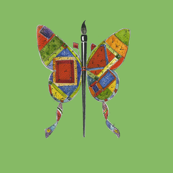 Jenoiserie_Butterfly_Quilt_yellow_green_