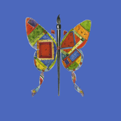 Jenoiserie_Butterfly_Quilt_blue