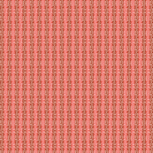 Double Buzz Stripe - Autumn Coral, Mahogany