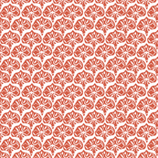Fan - Deep Coral Tan