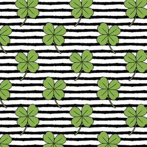 clover on stripes