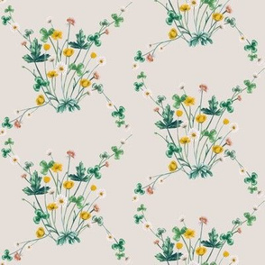 Wild Meadow Diamond, Vintage Cotton