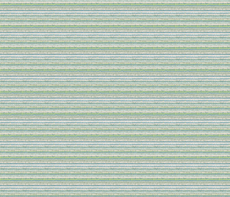Yarn Stripe (with greenery) fabric by seesawboomerang on Spoonflower - custom fabric