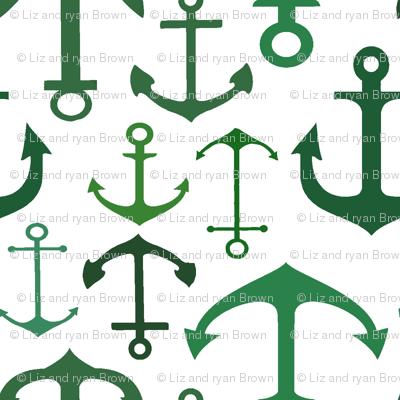 Aqua Anchors // Vertical