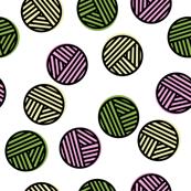 Bouncing Balls of Yarn