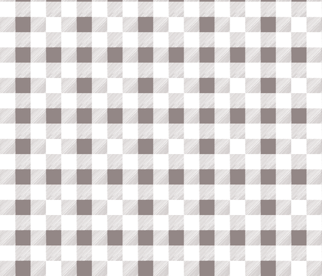 Buffalo Check with Glitch fabric by lilafrances on Spoonflower - custom fabric