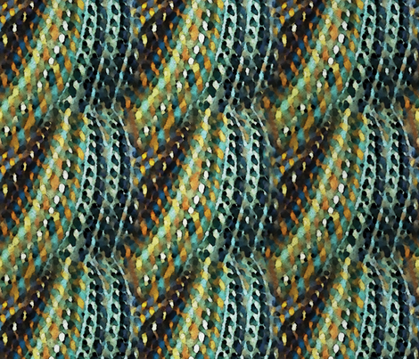 Handspun fabric by jilbert on Spoonflower - custom fabric