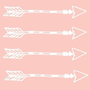 Tribal Arrows Blush Pink
