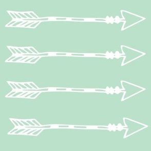 Tribal Arrows Mint