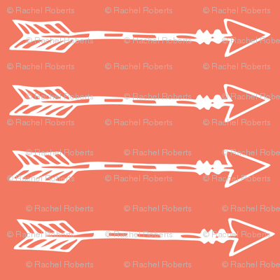 Tribal Arrows Coral