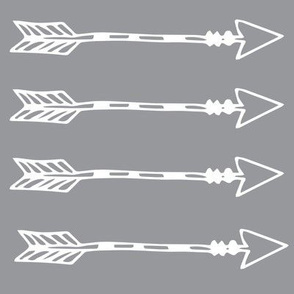 Tribal Arrows Grey