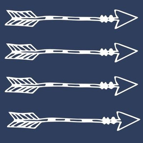 Tribal arrows navy