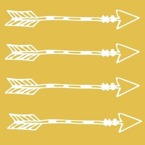 Tribal Arrows Mustard